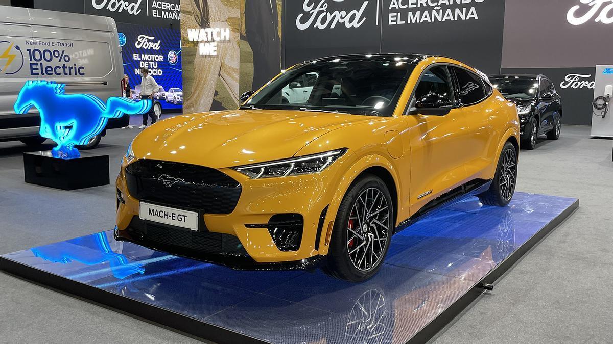 Novedades del Automobile Barcelona 2021: Ford Mustang Mach-E GT