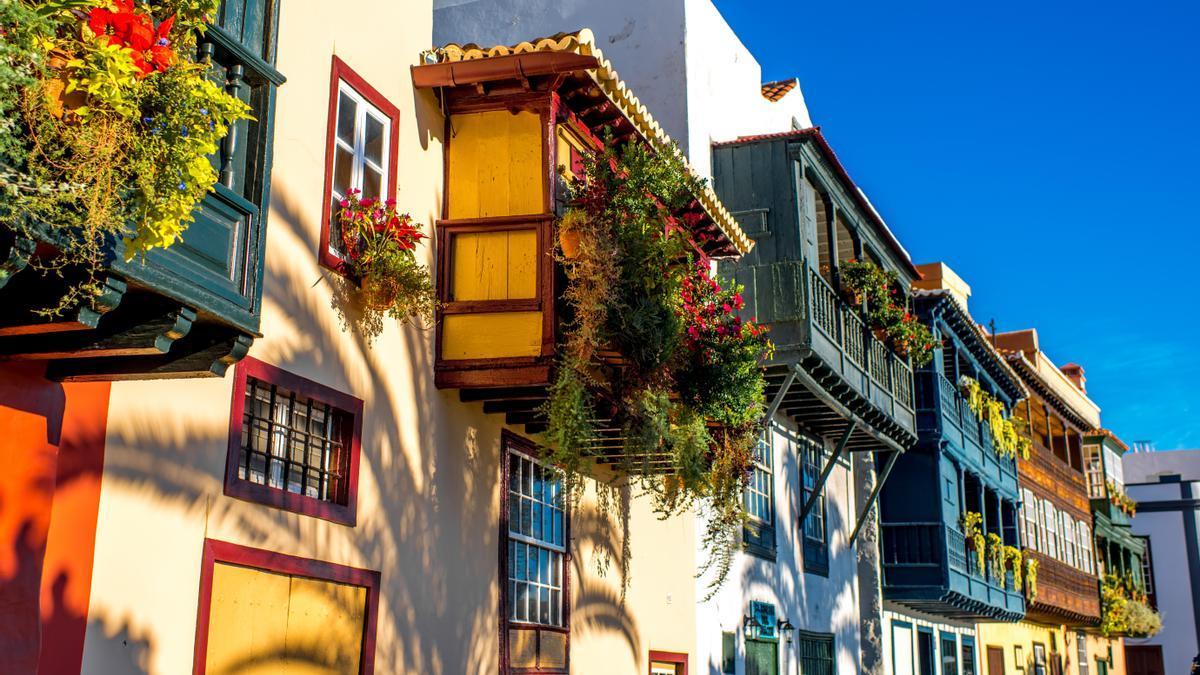 Calle de Santa Cruz de La Palma.