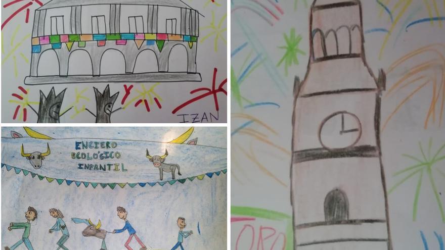Bambalinas invita a los niños a recordar las fiestas de San Agustín de Toro con dibujos