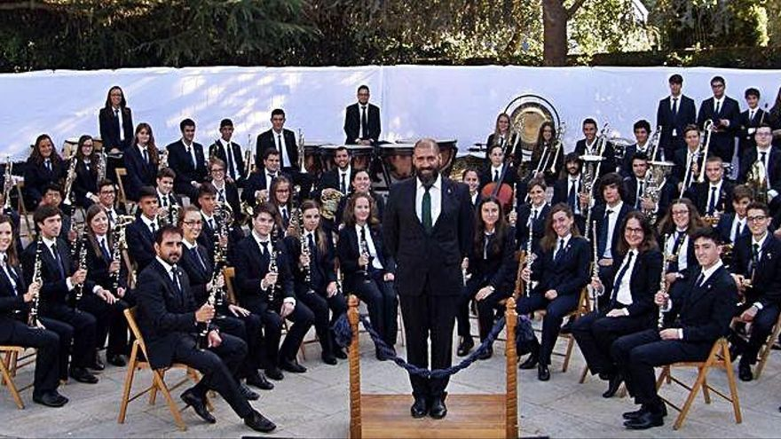 La banda Sementeira, seleccionada para un certamen internacional en Tarragona