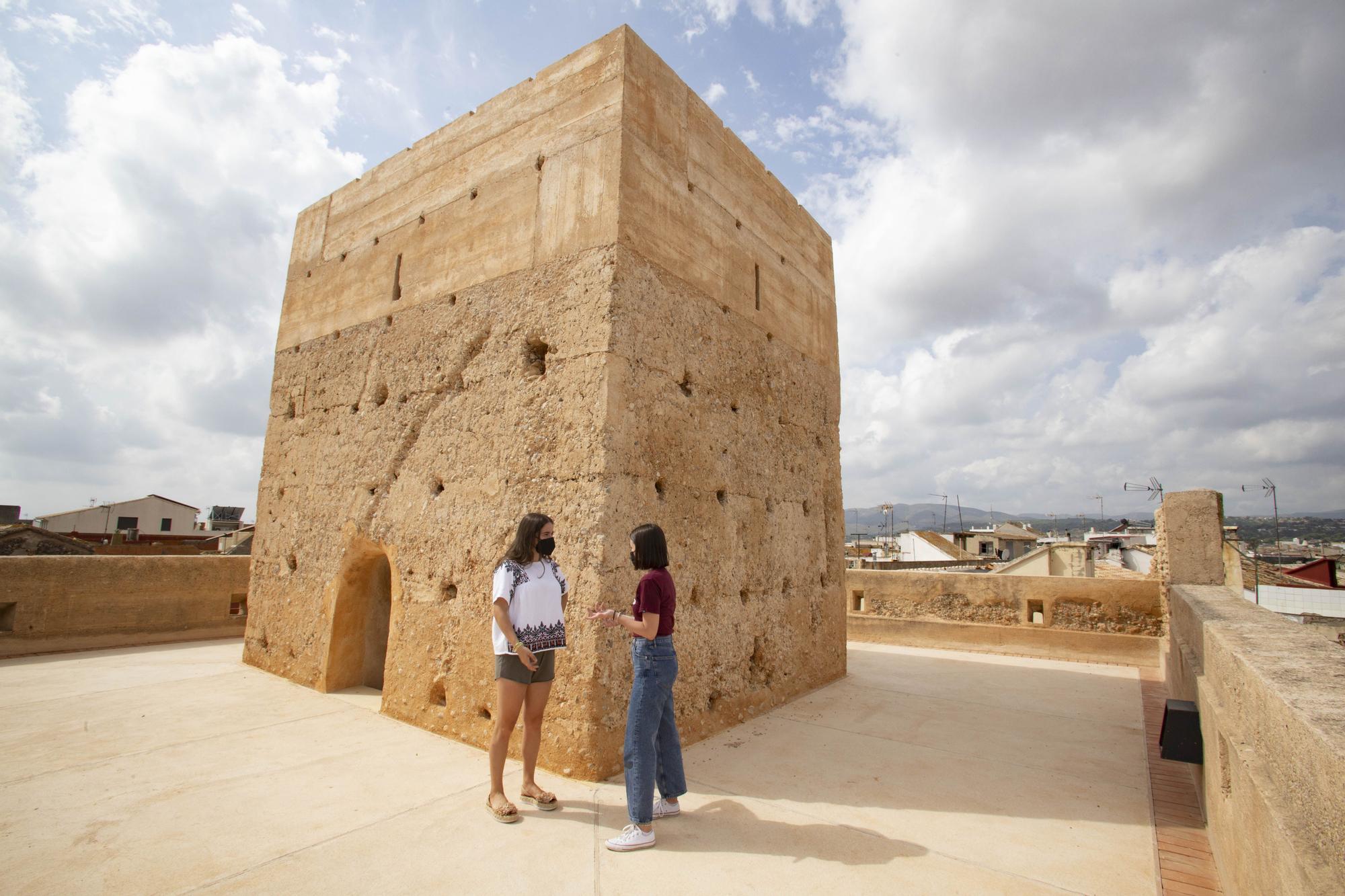 La histórica Torre de Alfarp, desde dentro