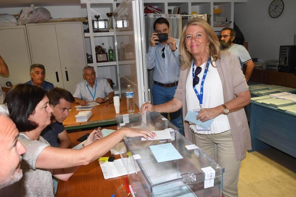 La candidata del PP a la reelección como alcaldesa de Marbella, Ángeles Muñoz.