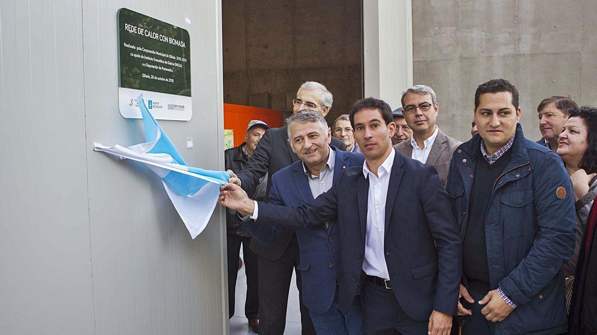El proyecto de la red de calor fue inaugurado hace dos años, en octubre de 2018.    // BERNABÉ/ANA AGRA
