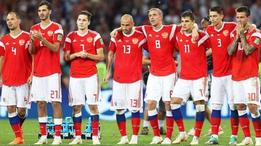 Rússia admet que els seus jugadors van utilitzar amoníac contra Espanya i Croàcia