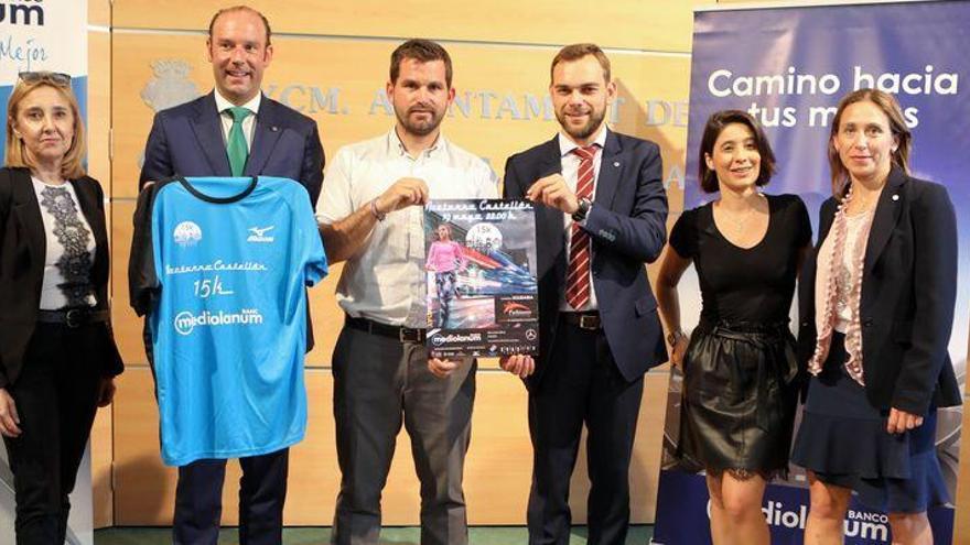 Más de 1.000 corredores participarán el sábado en la 'Nocturno Castellón'