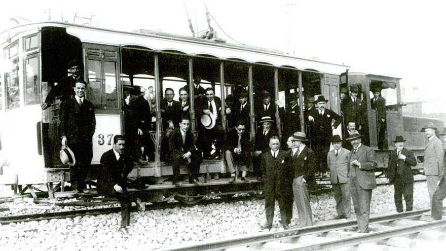 Los tranvías, el primer transporte metropolitano