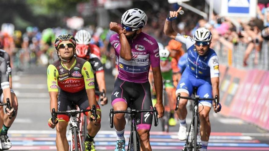 Gaviria firma un espectacular pòquer de victòries al Giro