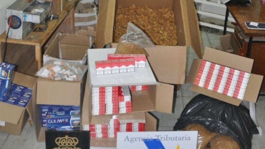 Desarticulado en Lucena un grupo dedicado al tráfico de tabaco