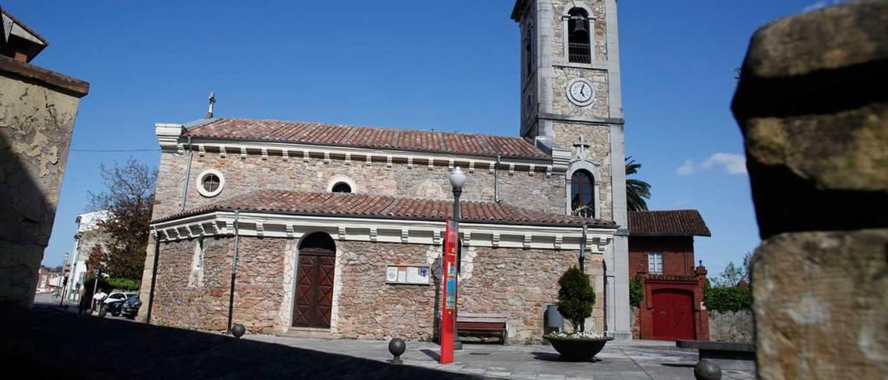 La iglesia de la Magdalena.