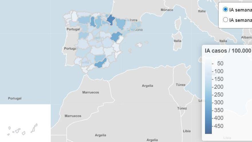 Mapa autonómico del coronavirus: radiografía de 17 formas de atajarlo