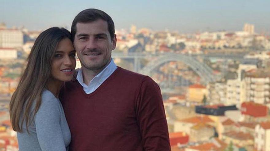 """Sara Carbonero e Iker Casillas celebran """"un día para estar muy alegres"""""""