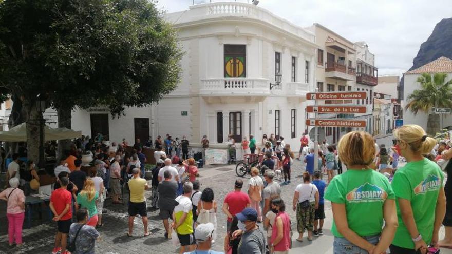 Vuelven las protestas por el acuerdo de trasvase de las aguas residuales de Garachico