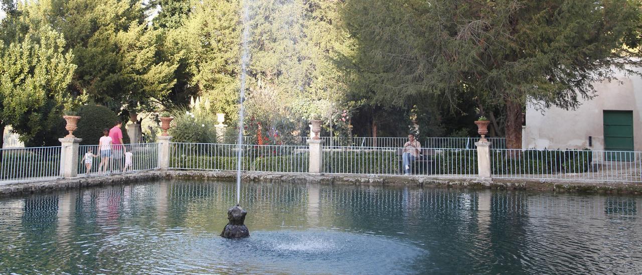 Imagen del Jardín de Todos Los Santos de Penáguila