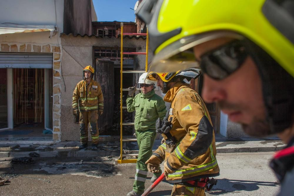 Un joven permanece ingresado tras ser trasladado en helicóptero al sufrir quemaduras en el 70% de su cuerpo