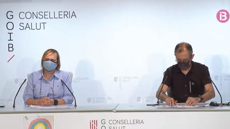 Comparecencia de Javier Arranz y Eugènia Carandell para evaluar la situación de la pandemia en Baleares