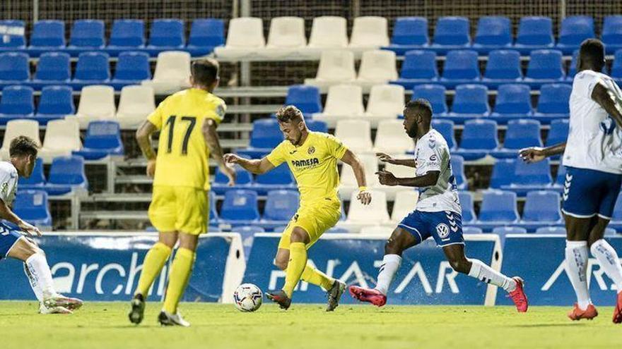 Tropezón veraniego del Villarreal frente al Tenerife (2-3)