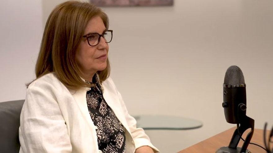 Teresa Campos, directora de la Fundación Mutua Madrileña, habla sobre el acoso escolar en el nuevo capítulo del podcast de 'Woman Business'
