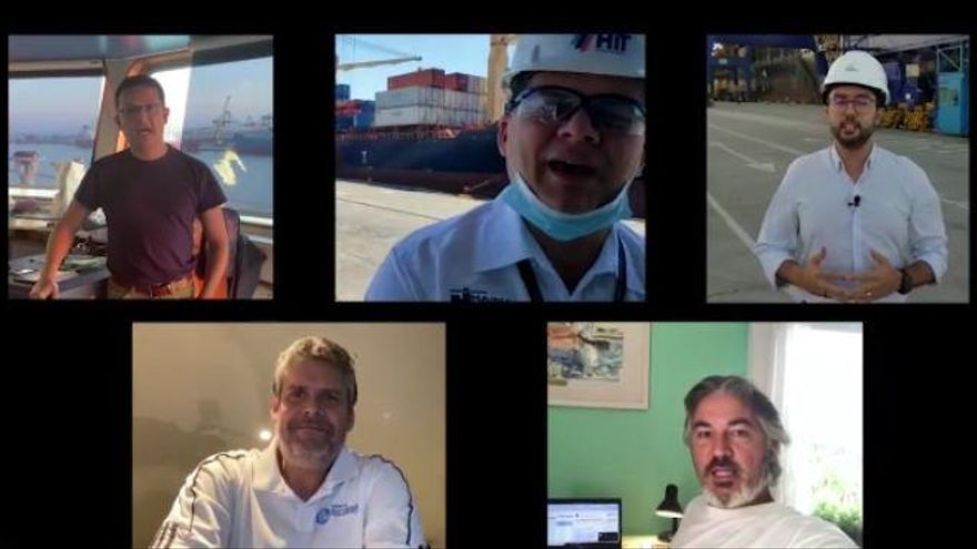 Éxito de la campaña solidaria #AlPieDelCañon de Valenciaport con más de 100.000 reproducciones de los videos compartidos