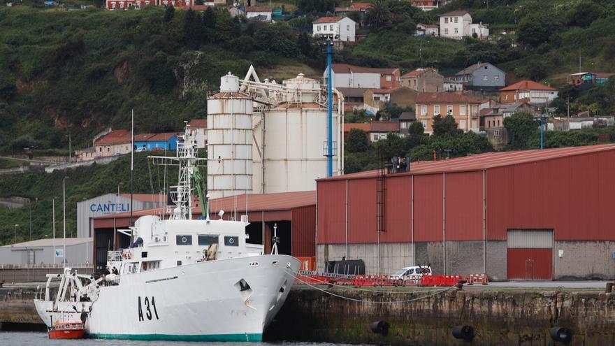 La Armada inicia en El Musel la renovación de la cartografía de los puertos asturianos