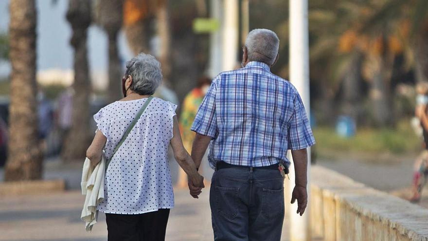El impacto del covid frena el crecimiento del número de pensionistas en la provincia