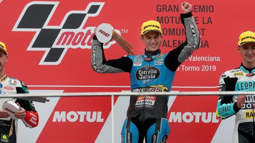 Sergio García estrena su palmarés en Moto3