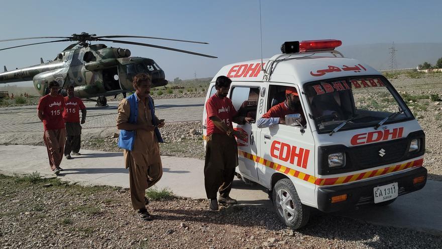 Un terremoto deja al menos 20 fallecidos y más de 300 heridos en Pakistán