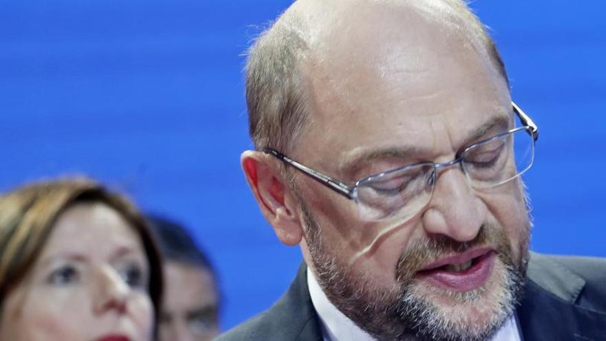 El SPD descarta volver a gobernar en coalición con la CDU