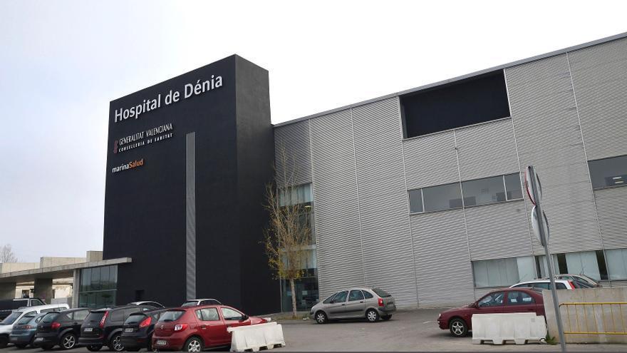 Un único paciente con covid,  ingresado en el Hospital  de Dénia