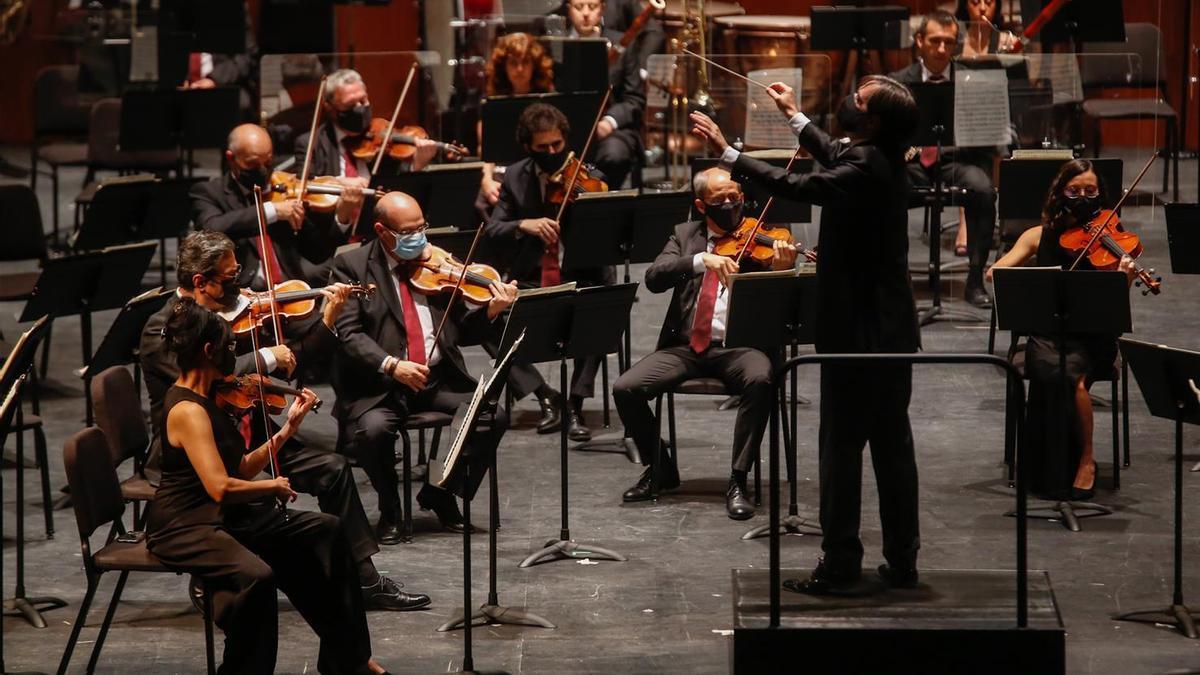 La Orquesta de Córdoba, durante una reciente actuación.