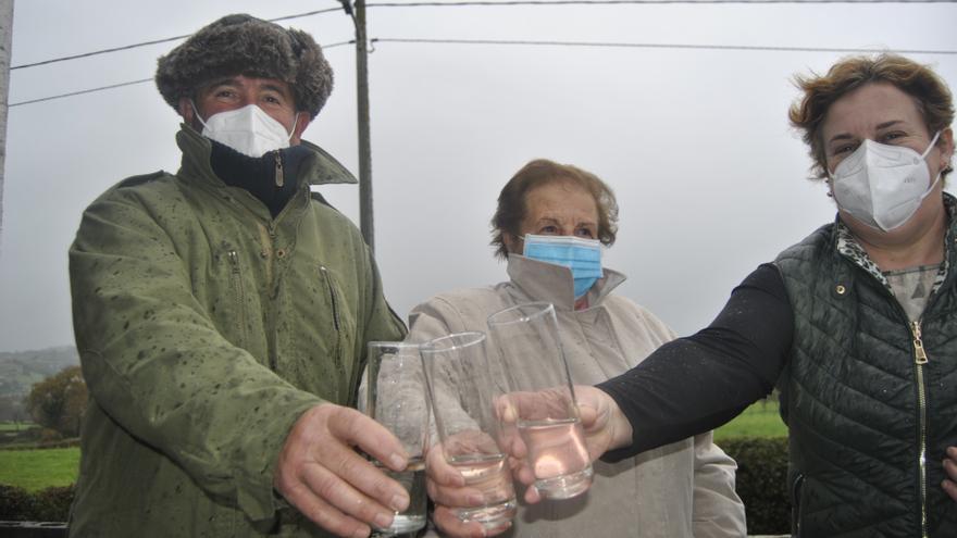 Anes, la parroquia con más cooperativas de agua de Siero, que aún suma 23 en todo el municipio