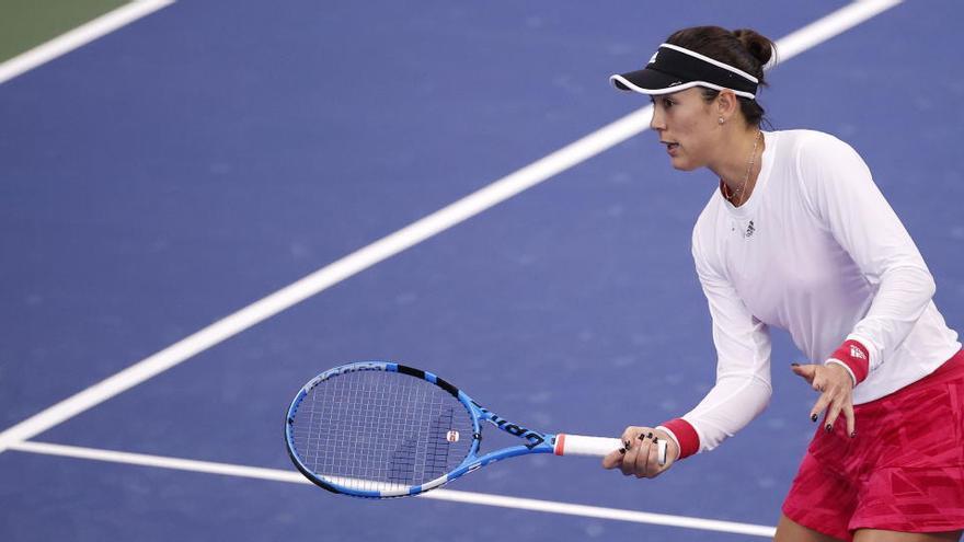 Muguruza empieza el US Open ganando a la japonesa Hibino