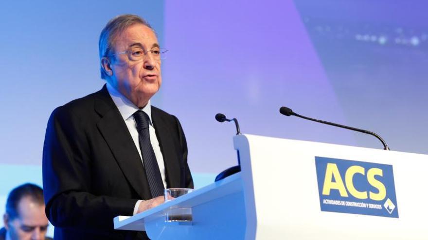 El Parlament cita a Florentino Pérez en una comisión sobre el almacén de gas Castor