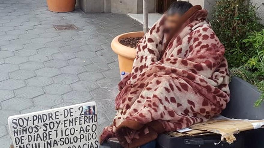 Esclavizado pidiendo limosna en Barcelona