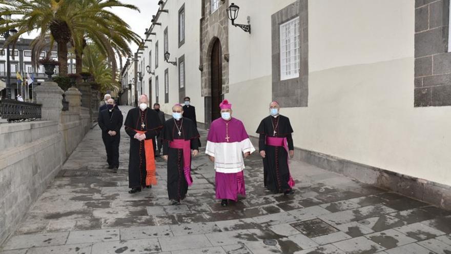 Toma de posesión del nuevo obispo  de la Diócesis de Canarias, José Mazuelos