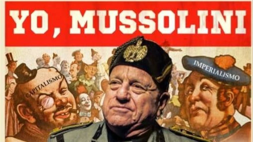 'Yo, Mussolini' por Leo Bassi