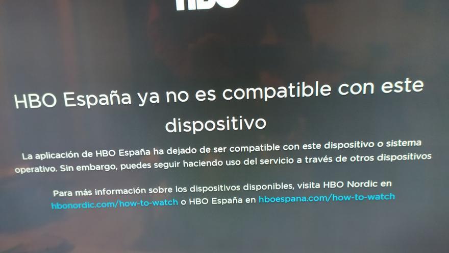 Quejas contra HBO España al dejar de funcionar su app en muchas televisiones y dispositivos