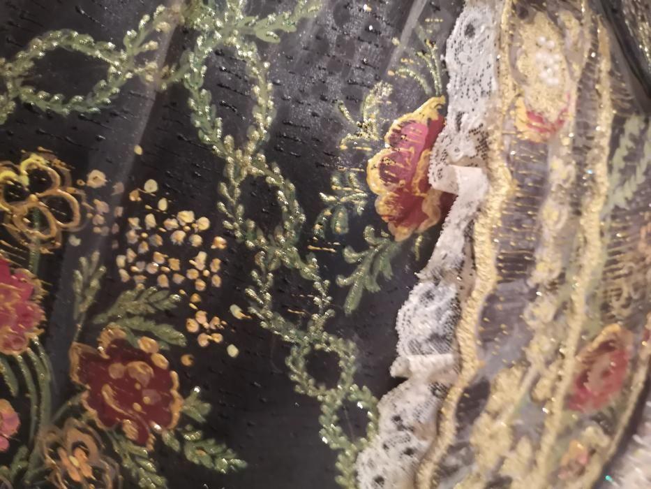 Detalles de la reproducción de los espolines