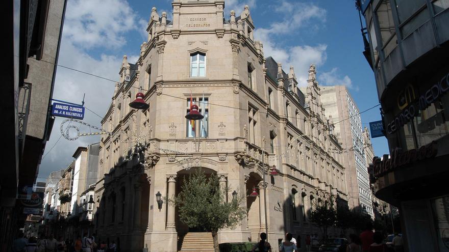 Correos de Pontevedra tendrá la mitad de personal este verano