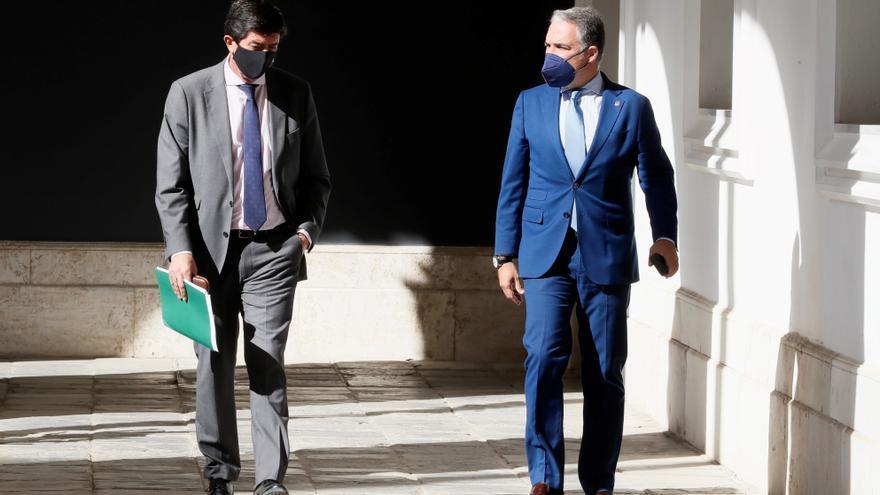 El Gobierno andaluz prorrogará los presupuestos para completar la legislatura si no cuenta con el apoyo del PSOE o de Vox