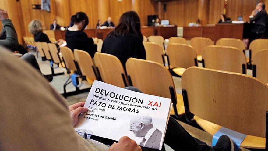 """Los Franco anuncian recurso al fallo de Meirás y el Estado desiste por """"razones jurídicas"""""""