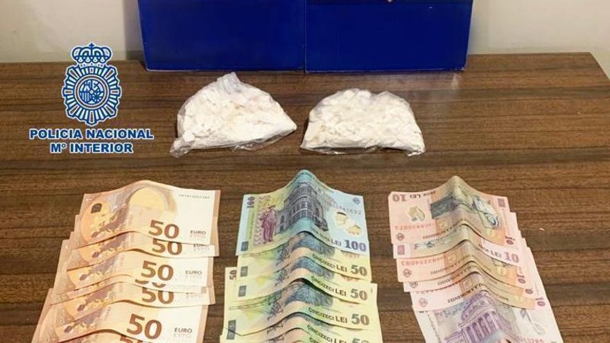 Detenido en la Estación de Delicias con 200 gramos de cocaína en su equipaje