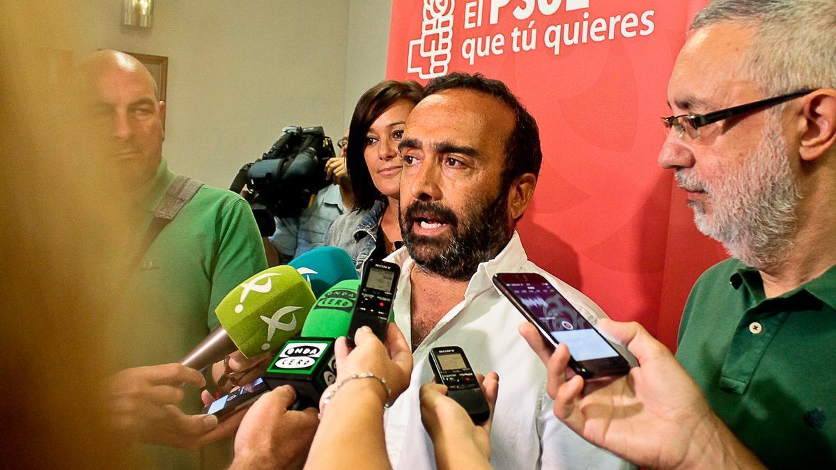 Miguel Ángel Morales, secretario general del PSOE de Cáceres.