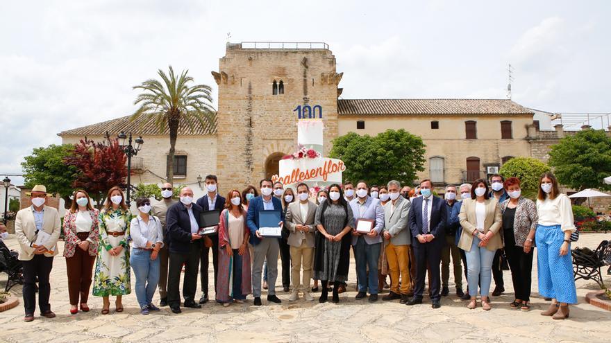 Cañete en Flor un homenaje a los Patios de Córdoba