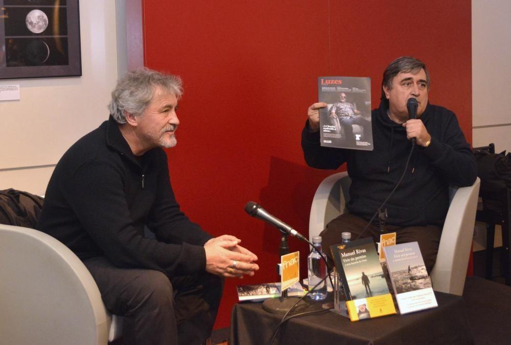 Manuel Rivas presenta ''Vivir sin permiso'' en Fnac