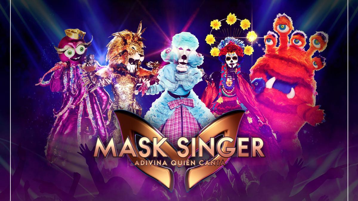 """Una imagen de la segunda edición de """"Mask Singer""""."""