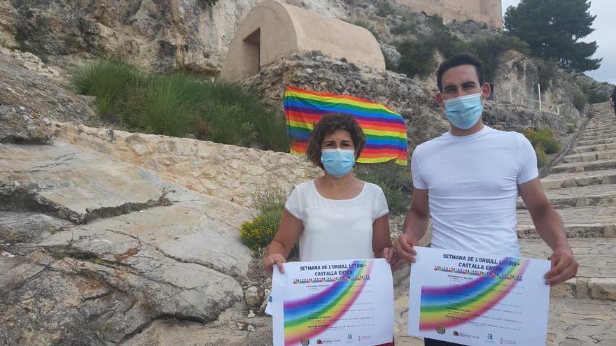 Castalla iluminará su castillo con la bandera arcoíris por el Día del Orgullo LGTBIQ+