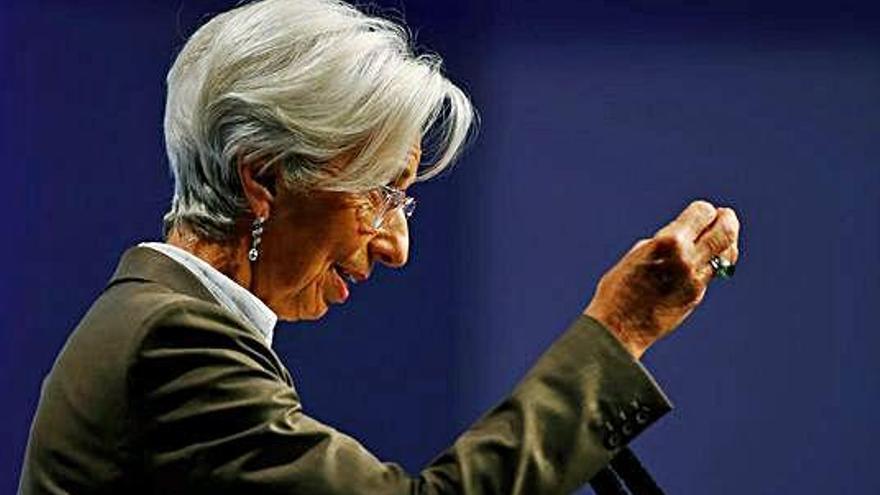 Lagarde demana potenciar la demanda interna per poder afrontar la incertesa global