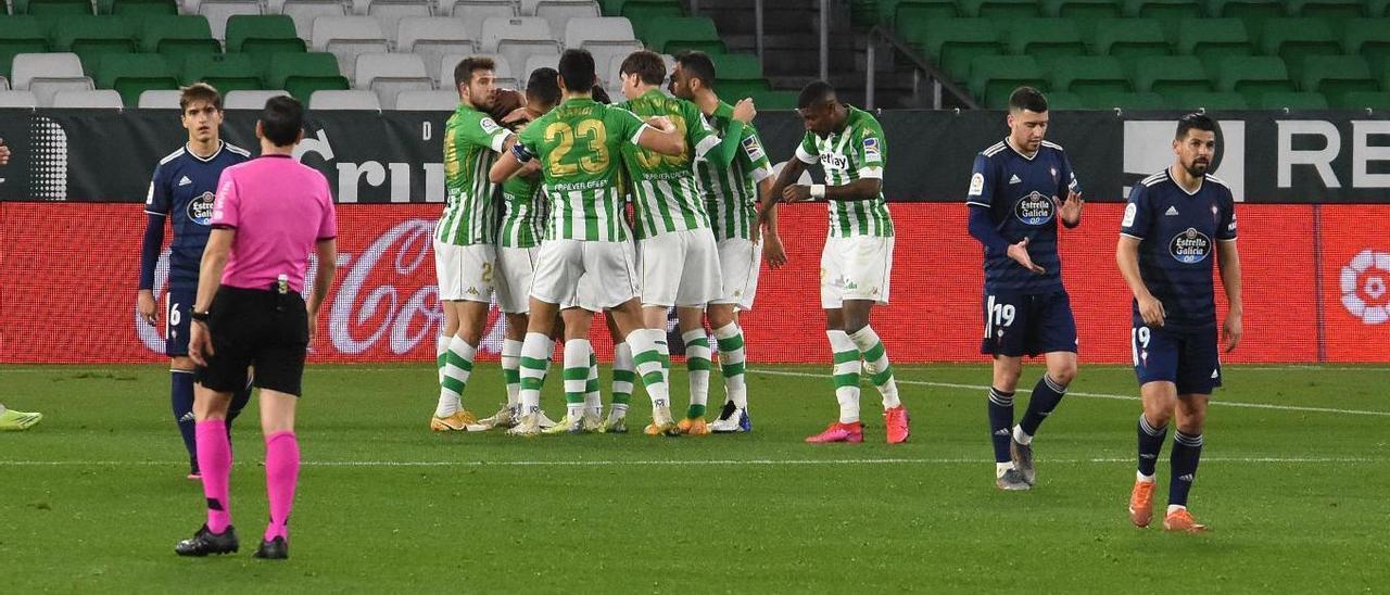 El Real Betis - Celta de Vigo, en imágenes