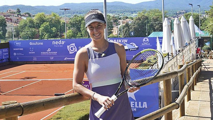 La blanenca Marina Bassols passa ronda al torneig ITF de la Bisbal