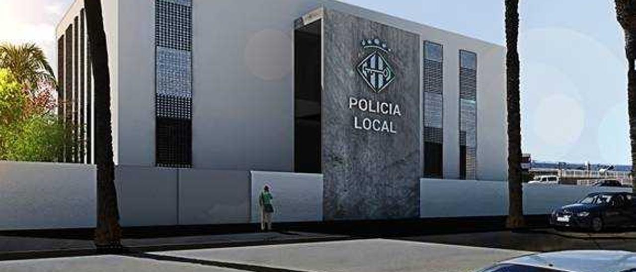 El nuevo proyecto eleva a un millón el coste del retén de policía de Alzira
